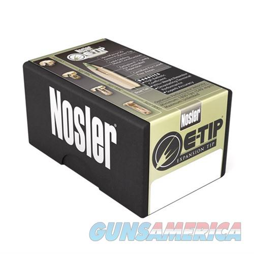Nosler 6mm 90gr Spitzer E-Tip 50/bx  Non-Guns > Reloading > Components > Bullets