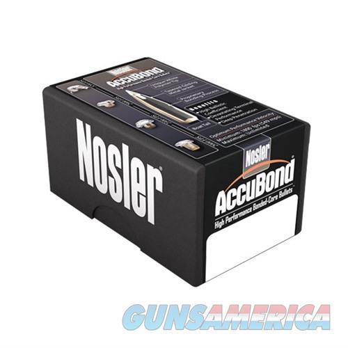 Nosler 6.8mm 110gr Spitzer w/ Cann. AccuBond 50/bx  Non-Guns > Reloading > Components > Bullets