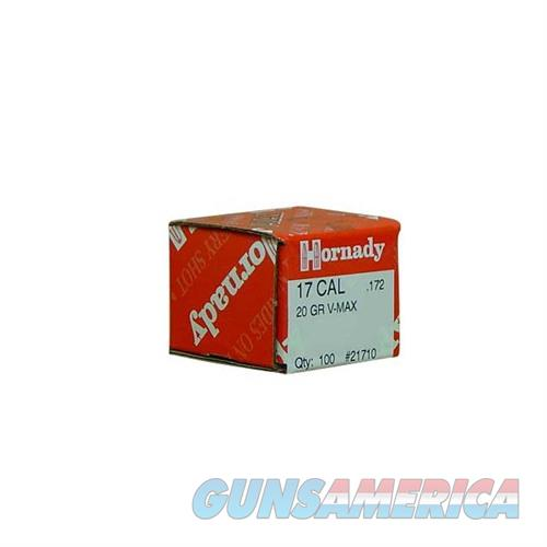 Hornady 17 CAL .172 20 GR V-MAX  Non-Guns > Reloading > Components > Bullets