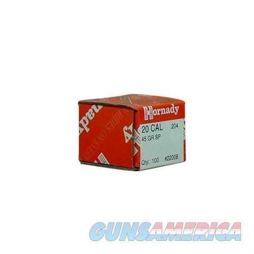 Hornady 20 CAL .204 45 GR SP  Non-Guns > Reloading > Components > Bullets
