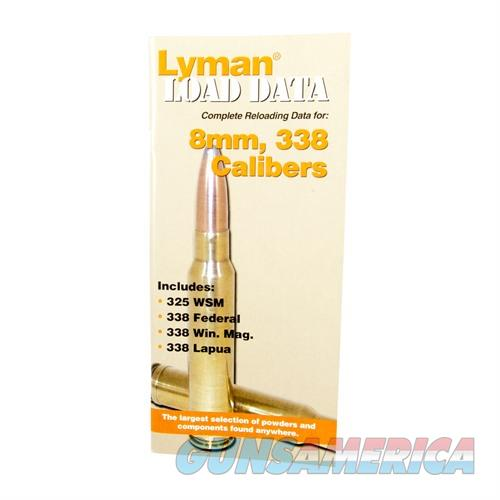 LYMAN LOAD DATA BOOK 8MM, 338  Non-Guns > Books & Magazines