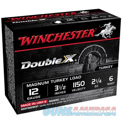 Winchester Double X Turkey 12ga 3.5'' 2-1/4oz #6 10/bx  Non-Guns > Ammunition