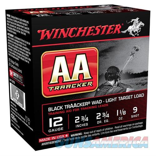 Winchester Light TrAAcker Black 12ga 2.75'' 1-1/8oz #9 25/bx  Non-Guns > Ammunition