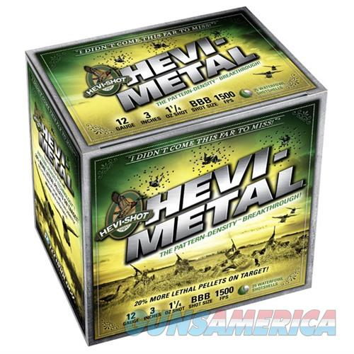 HEVI-METAL 12 GAUGE 3.5IN 1.5OZ. #2 25/BX (25 ROUNDS PER BOX)  Non-Guns > Ammunition