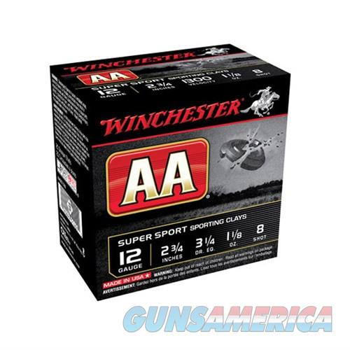 WINCHESTER AA SUPER SPORT CLAYS 12 GAUGE 2.75' 1-1/8OZ #9 25/BX (  Non-Guns > AirSoft > Ammo