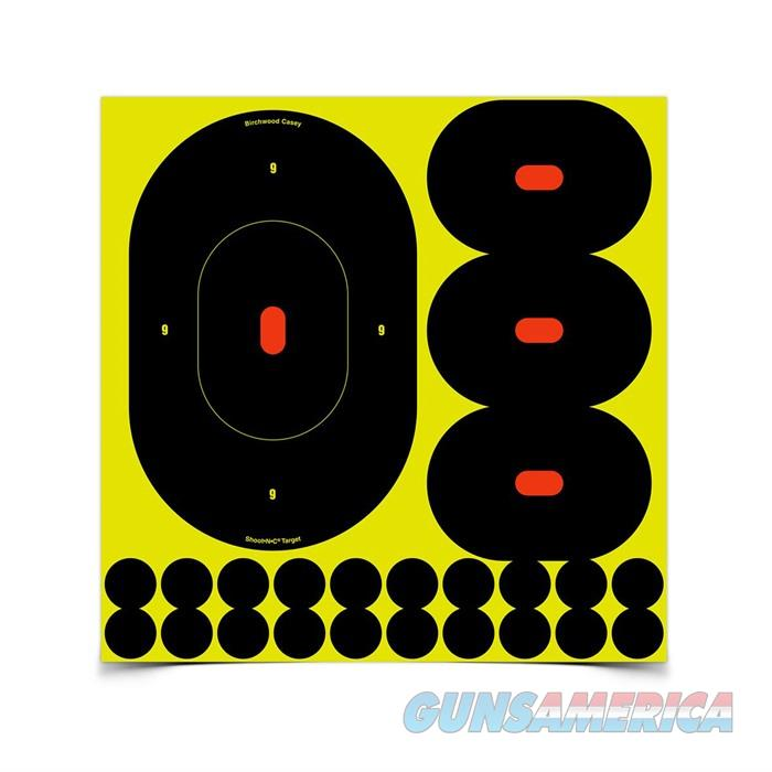 Shoot-N-C 9'' Silhouette Target 5-9'', 15-4.75'', & 100 Pasters  Non-Guns > Targets > Clay Throwers