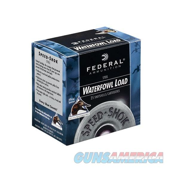 Federal Speed-Shok 12Ga 2-3/4''  1-1/8Oz 3 25/Bx  Non-Guns > Ammunition