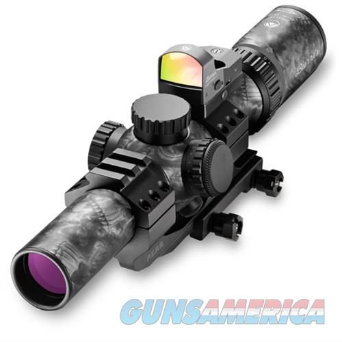 Burris MTAC 1-4x24mm Ballistic CQ SkullTac, FF III, PEPR Mount  Non-Guns > Scopes/Mounts/Rings & Optics > Rifle Scopes > Variable Focal Length