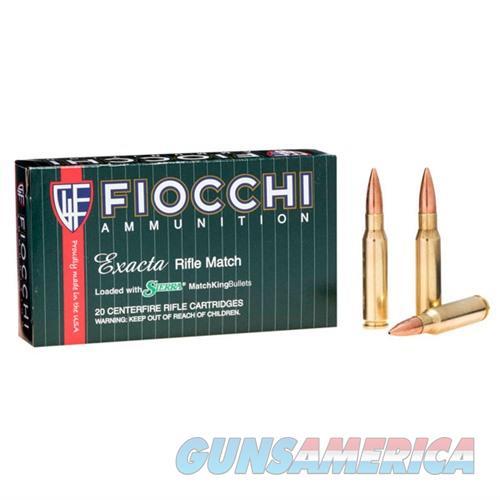 Fiocchi Exacta 308 Win 175gr SMK HPBT 20/bx  Non-Guns > Ammunition