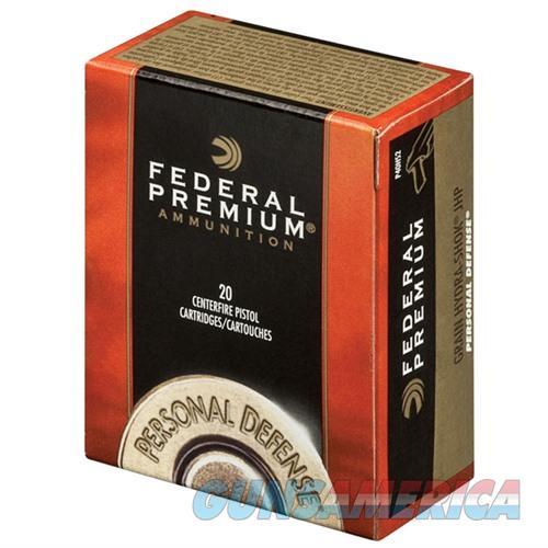 Federal Personal Defense 40 S&W 135gr Hydra Shok JHP 20/bx  Non-Guns > Ammunition