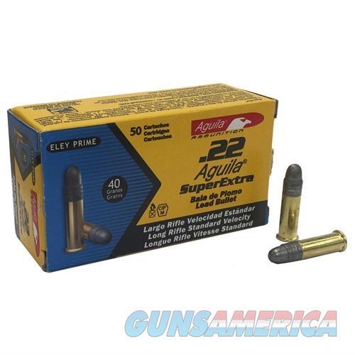 AGUILA 22LR SUB SP 40GR 50/BOX  Non-Guns > Ammunition