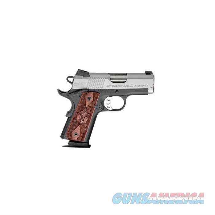 Springfield EMP 3''Bbl 40 S&W 8 Rd Black  Guns > Pistols > A Misc Pistols