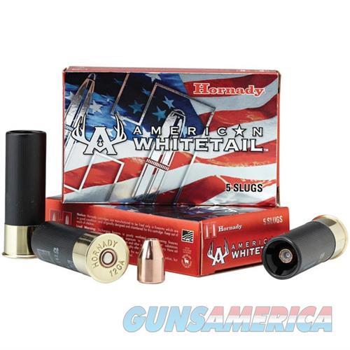 Hornady American Whitetail 12ga 1oz Rifled Slug  Non-Guns > Ammunition