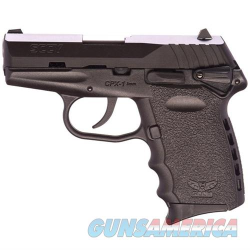 Sccy CPX-1 CB 9mm Black (Manual Safety)  Guns > Pistols > SCCY Pistols > CPX1