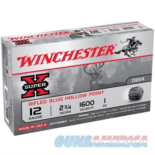 Winchester Super-X Slug 12ga 2.75'' 1 oz. 5/bx  Non-Guns > Ammunition