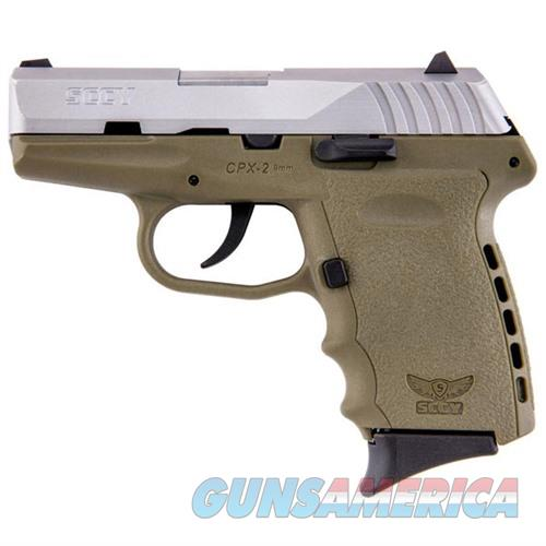 Sccy CPX-2 TTDE 9mm SS/FDE (No Manual Safety)  Guns > Pistols > SCCY Pistols > CPX2