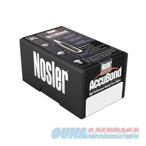 Nosler AccuBond Bullets 9.3mm 250gr Spitzer w/ Cann. 50/bx  Non-Guns > Reloading > Components > Bullets