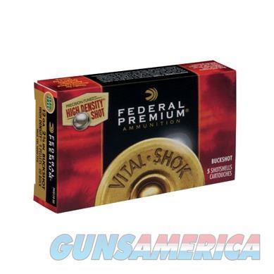 Federal Vital Shok High Density 12 ga 2.75'' #00 5/bx  Non-Guns > Ammunition
