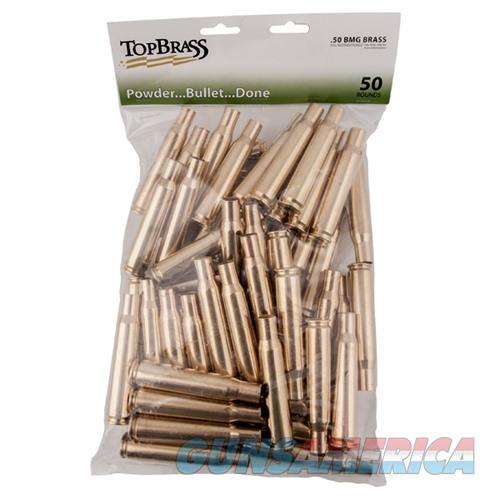 Top Brass .50 BMG 50Ct Bag  Non-Guns > Reloading > Components > Brass