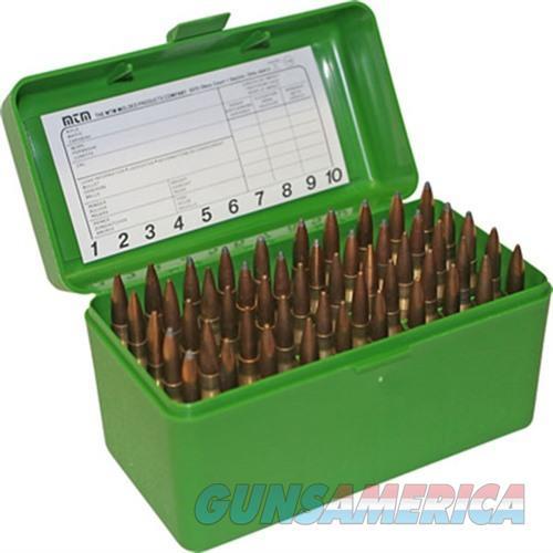 MTM  Ammo Box 50 Round Flip-Top 375 Rem UM 375 Wby Mag  Non-Guns > Military > Cases/Trunks