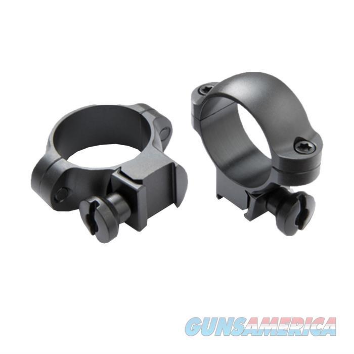 BURRIS Med Deluxe Steel Quick Detach Rimfire/Airgun Rings Matte  Non-Guns > Scopes/Mounts/Rings & Optics > Mounts > Other