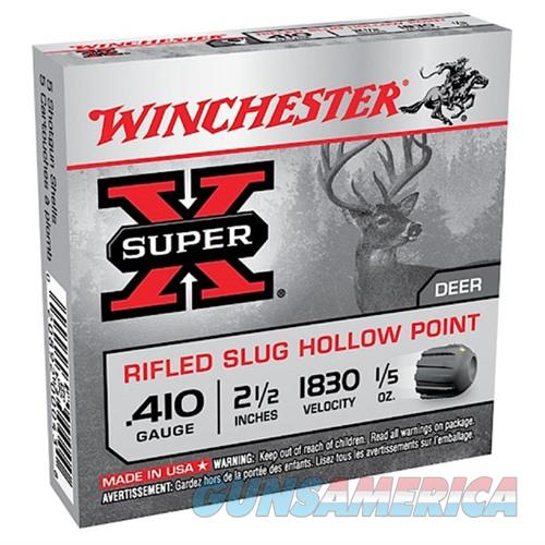 Winchester Super X 410 2.5'' 1/5 oz Slug 15/bx  Non-Guns > Ammunition