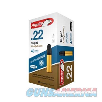 AGUILA 22LR TARGET 40GR 50/BOX  Non-Guns > Ammunition