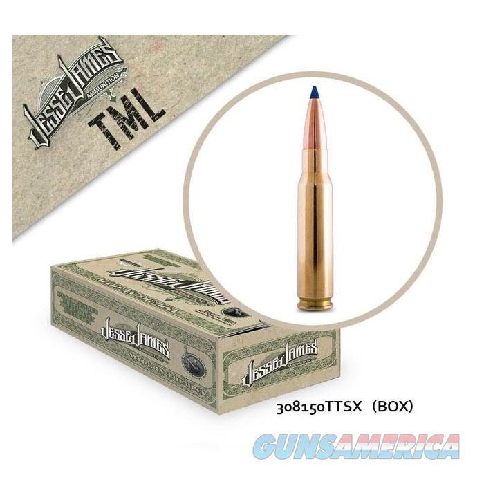 Jesse James TML 308Win 150gr TTSX 20bx  Non-Guns > Ammunition