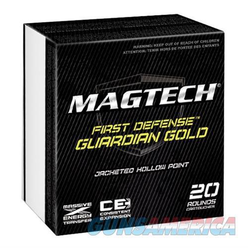 MagTech Ammo 9mm Luger 115 Gr JHP Guardian Gold 20/bx  Non-Guns > Ammunition