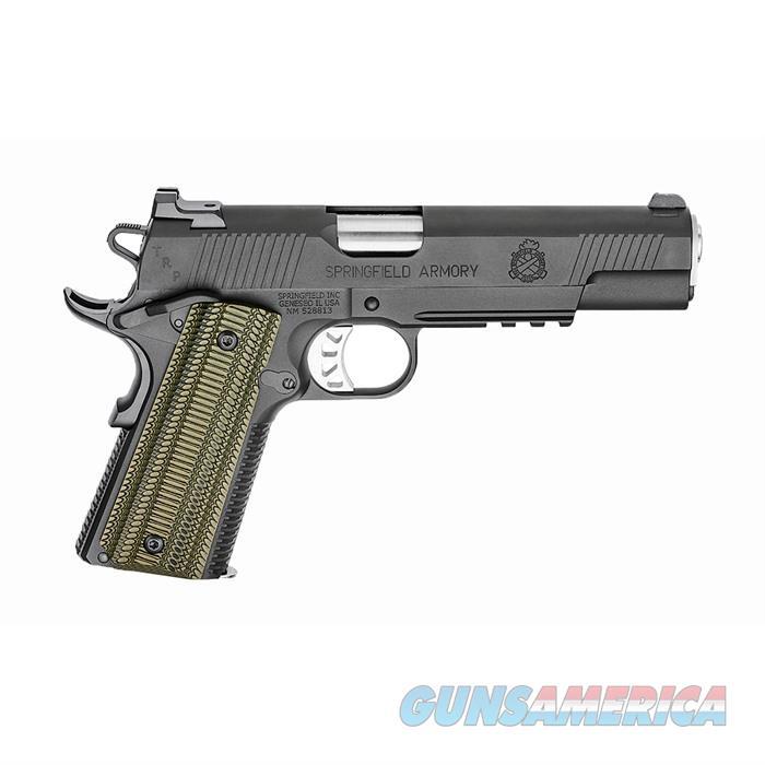 10mm Trp?, Black-T, W/Tactical Rear Night Sight W/ Range Bag  Guns > Pistols > Springfield Armory Pistols > 1911 Type