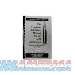 Loadbooks .222 Remington Each  Non-Guns > Books & Magazines