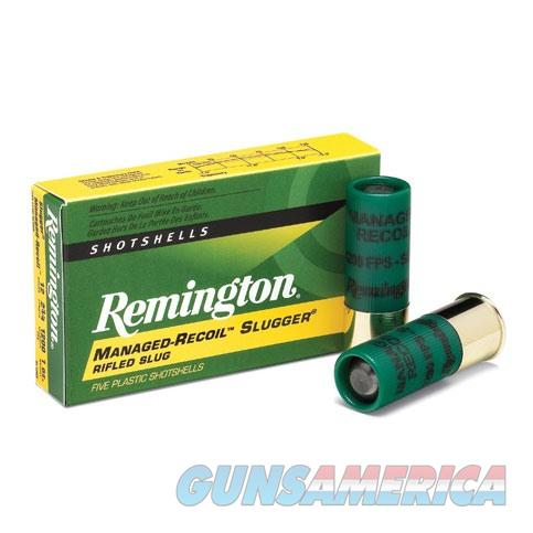 Remington Managed-Recoil Slugger 12ga 2.75'' 1oz Slug 5/bx  Non-Guns > Ammunition