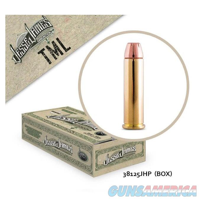 Jesse James TML 38 Spl 125 gr JHP 20rd  Non-Guns > Ammunition
