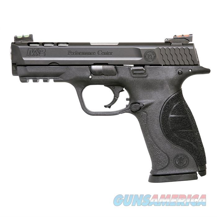 S&W M&P 9mm Performance Center Ported  4 1/4'' Bbl 17Rd  Guns > Pistols > A Misc Pistols