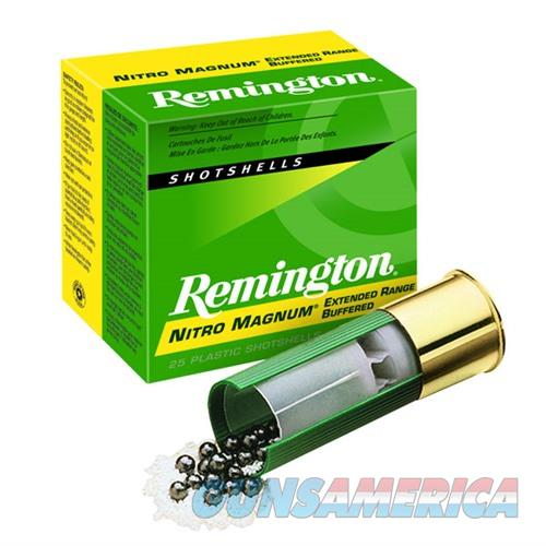 Remington Nitro Mag 12ga 3'' 1-5/8oz #4 25/bx  Non-Guns > Ammunition
