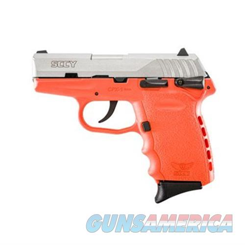 SCCY CPX-1 TTOR 9MM SS/ORANGE (DOUBLE SIDED SAFETY)  Guns > Pistols > SCCY Pistols > CPX1