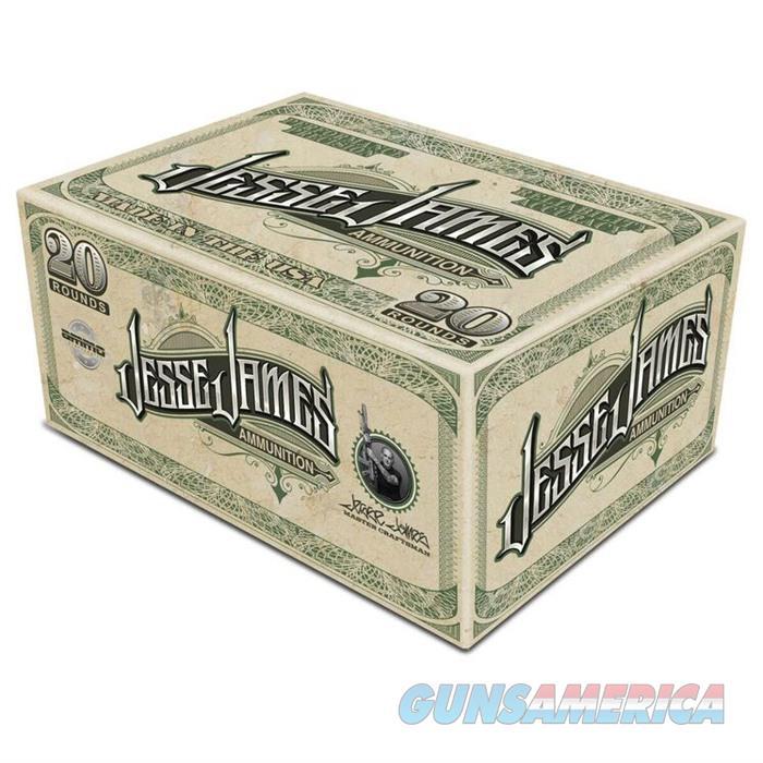 Jesse James TML 357 Mag 158gr JHP 20rd  Non-Guns > Ammunition