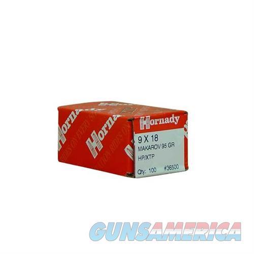 Hornady 9 X 18 MAKAROV 95 GR HP/XTP  Non-Guns > Reloading > Components > Bullets