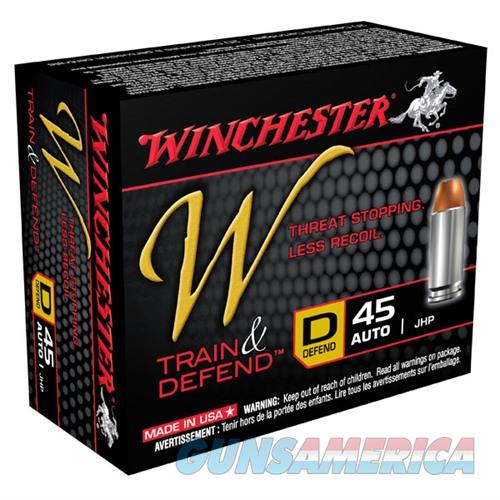Winchester Train & Defend 45 ACP 230gr JHP 20/bx  Non-Guns > Ammunition