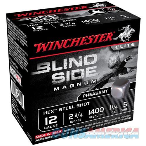Winchester Blind Side 12ga 2.75'' 1-1/4oz #5 25/bx  Non-Guns > Ammunition