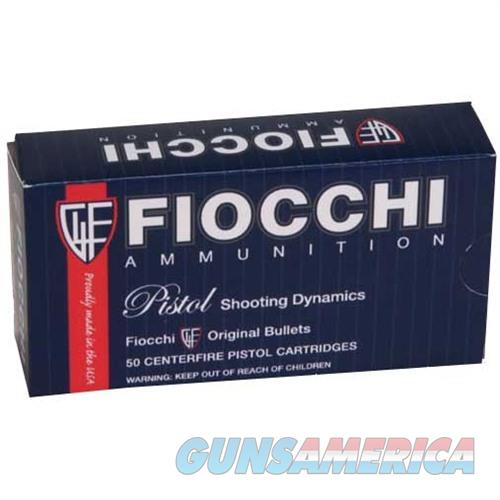 Fiocchi 9mm 115gr JHP 50/bx  Non-Guns > Ammunition