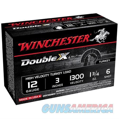 Winchester Double X Turkey 12ga 3'' #6 1-3/4oz 10/bx  Non-Guns > Ammunition