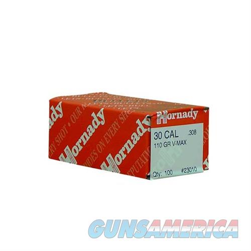 Hornady 30 CAL .308 110 GR V-MAX  Non-Guns > Reloading > Components > Bullets