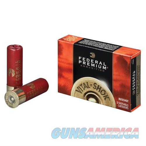 FEDERAL VITAL SHOK 12 GAUGE 3.5' 18 PEL #00B 5/BX  Non-Guns > Ammunition