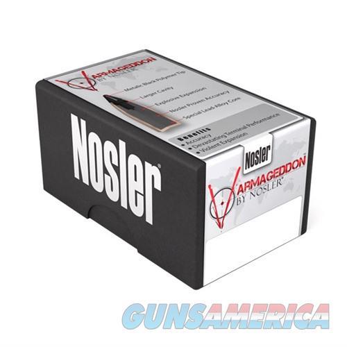 Nosler 17 Cal 20gr FBHP Varmageddon 100/bx  Non-Guns > Reloading > Components > Bullets