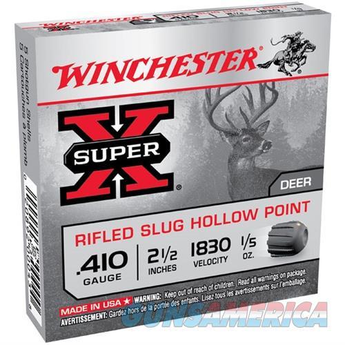 Winchester Super-X 410ga 2.5'' 1/5 oz. Slug 5/bx  Non-Guns > Ammunition