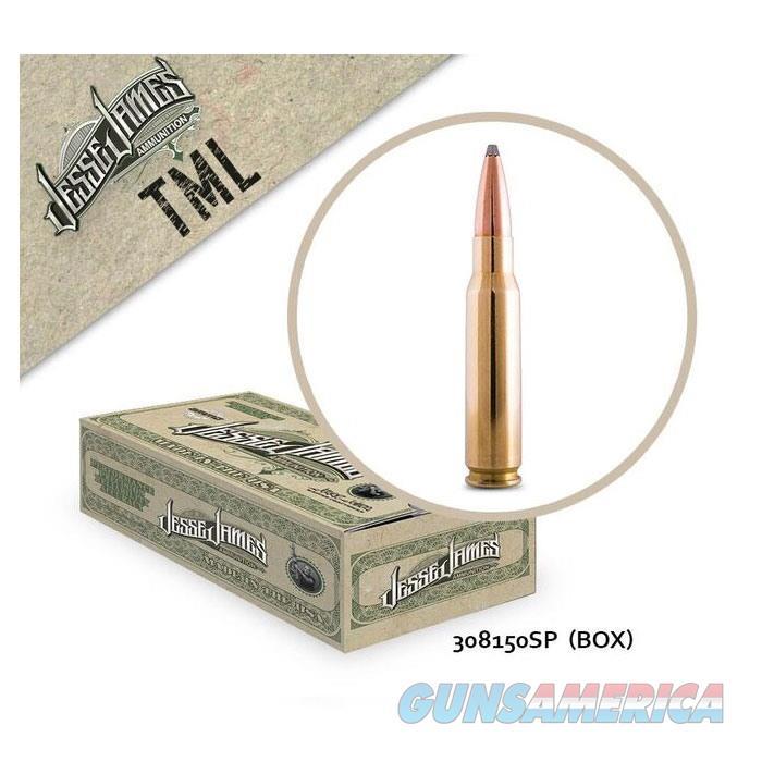 Jesse James TML 308 Win 150 SP 20bx  Non-Guns > Ammunition