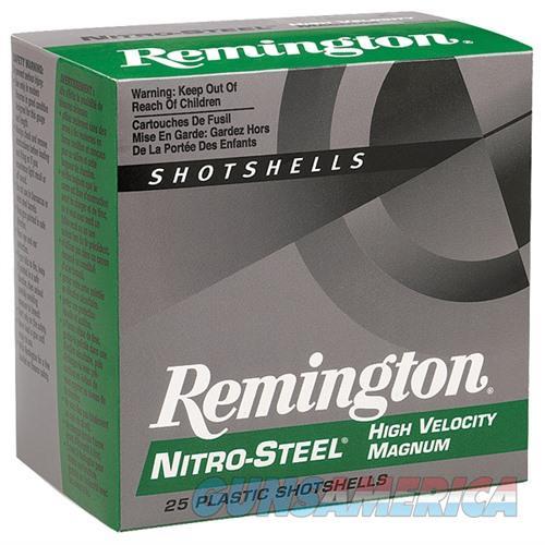Remington Nitro-Steel HV Mag 12ga 3'' 1-3/8oz #4 25/bx  Non-Guns > Ammunition