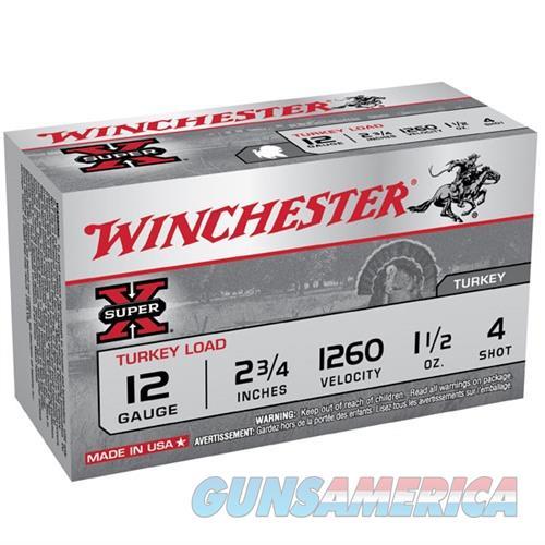 Winchester Super-X 12ga 2.75'' 1-1/2oz #4 10/bx  Non-Guns > Ammunition