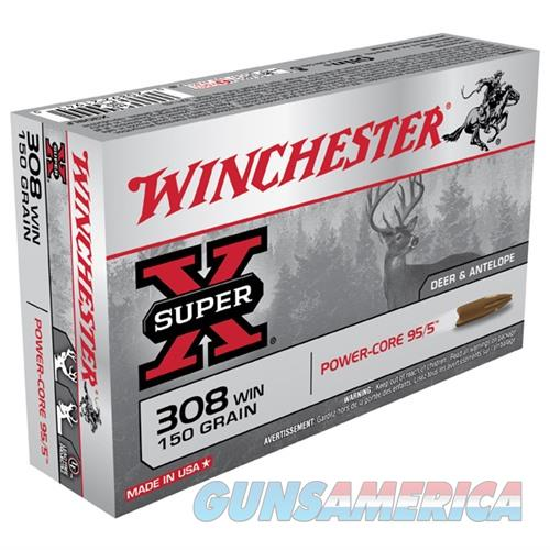 Winchester Super-X 308 Win 150gr Power-Core 95/5 20/bx  Non-Guns > Ammunition